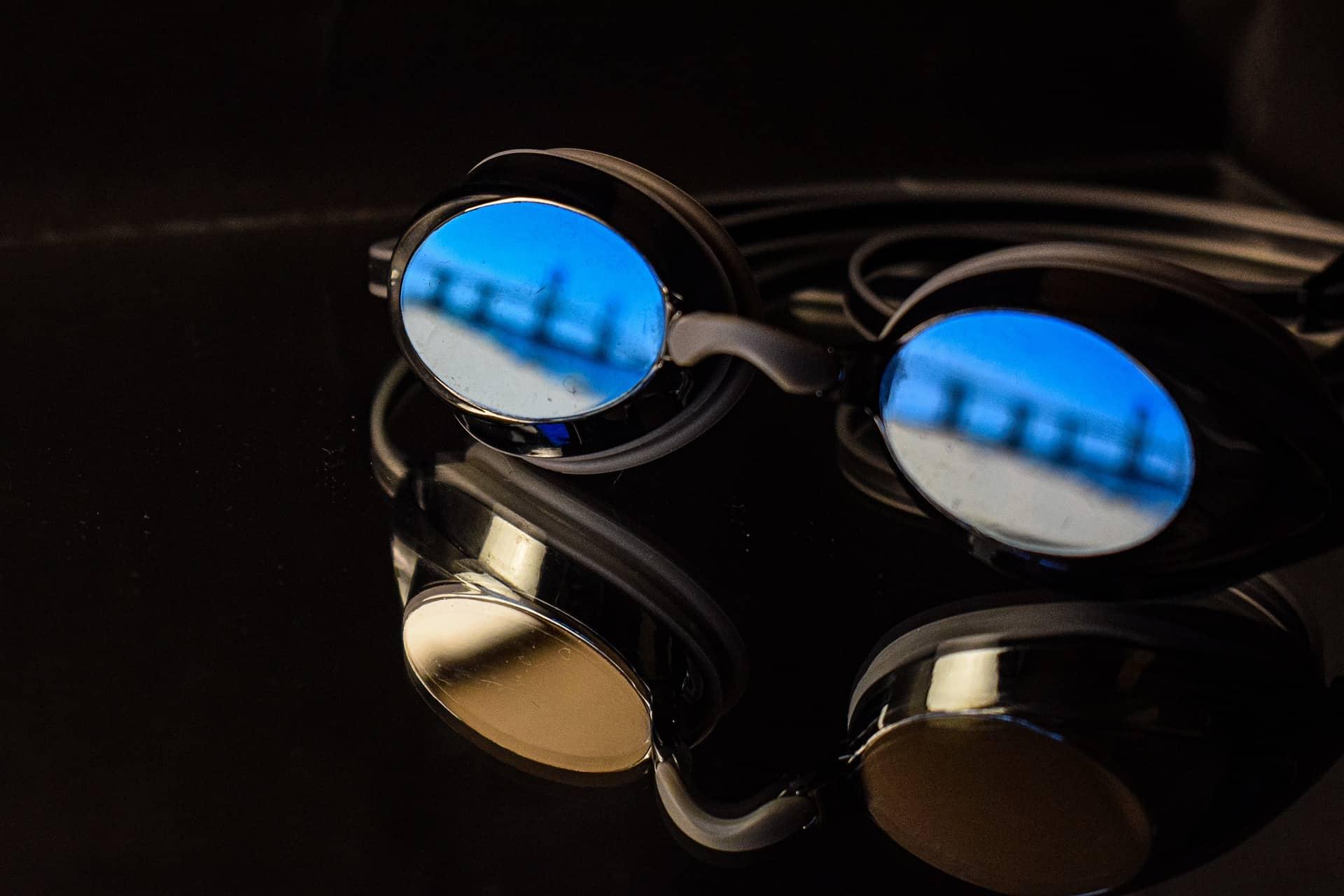 lunettes de natation verres miroir