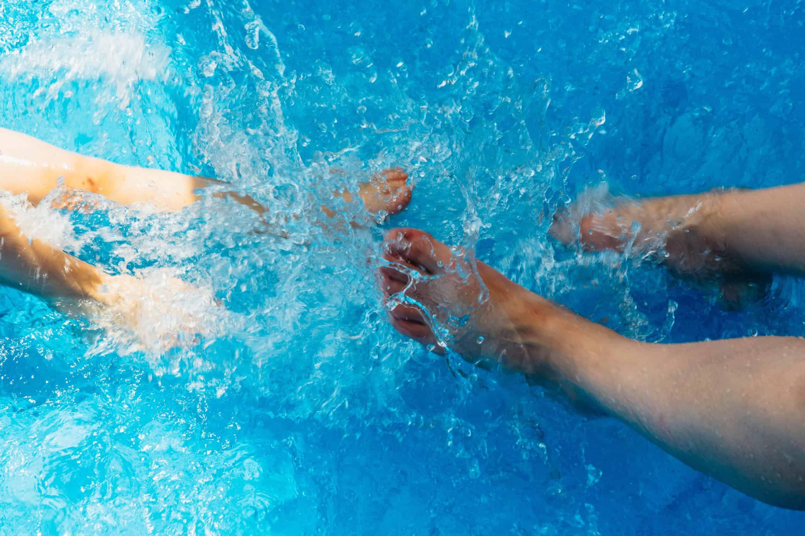 pieds piscine